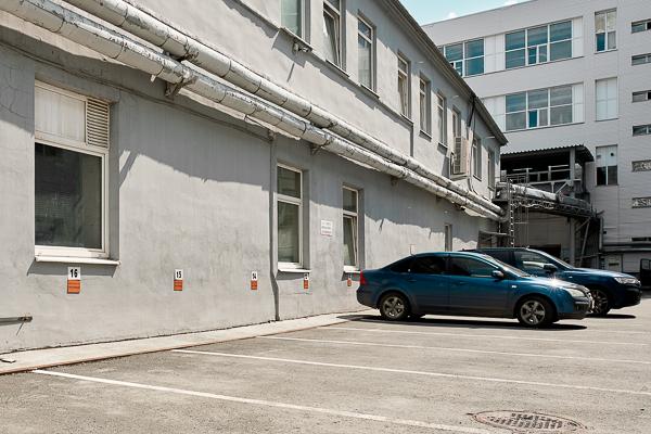 Парковка для клиентов